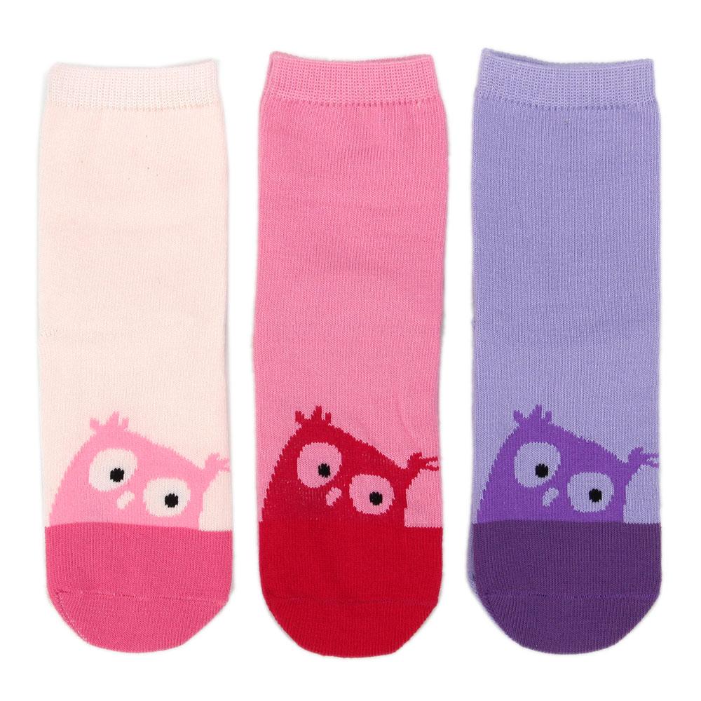 Носки детские, 70% хлопок, 30% полиамид, р18-20см, 3 цвета, KS2016-3