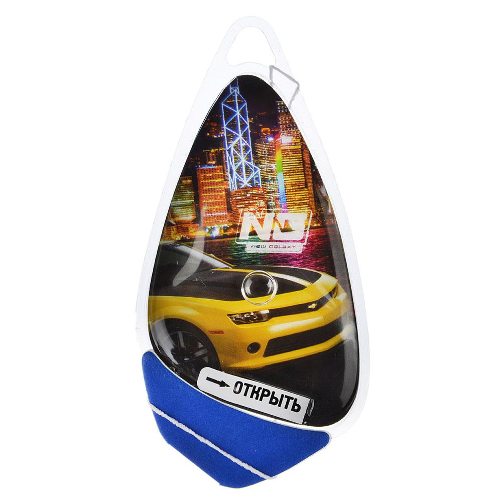 """Ароматизатор для  автомобиля, аромат ваниль, подвесной гелевый, """"Racer"""" NEW GALAXY"""