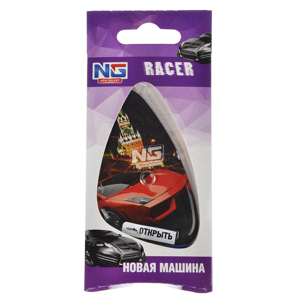 """Ароматизатор для  автомобиля, аромат новая машина, подвесной гелевый, """"Racer"""" NEW GALAXY,"""