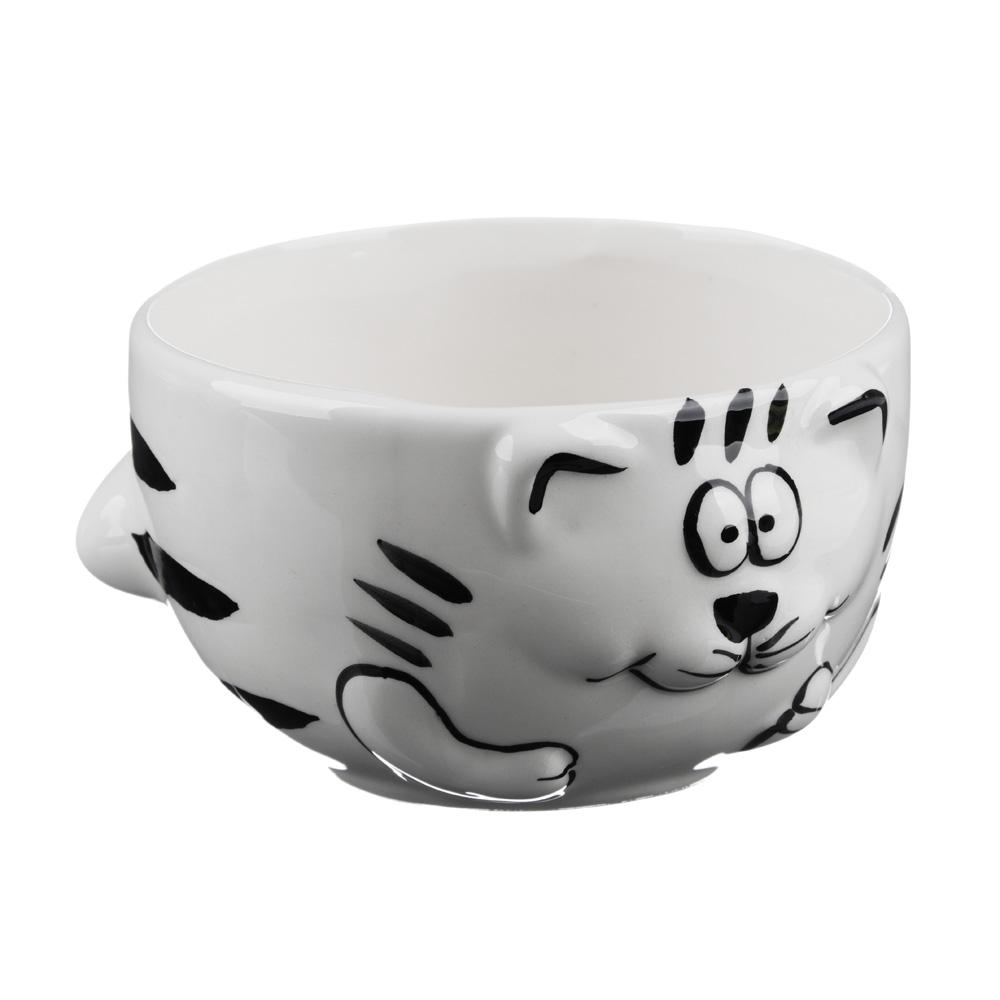 MILLIMI Милый котик Салатник, 420мл, керамика