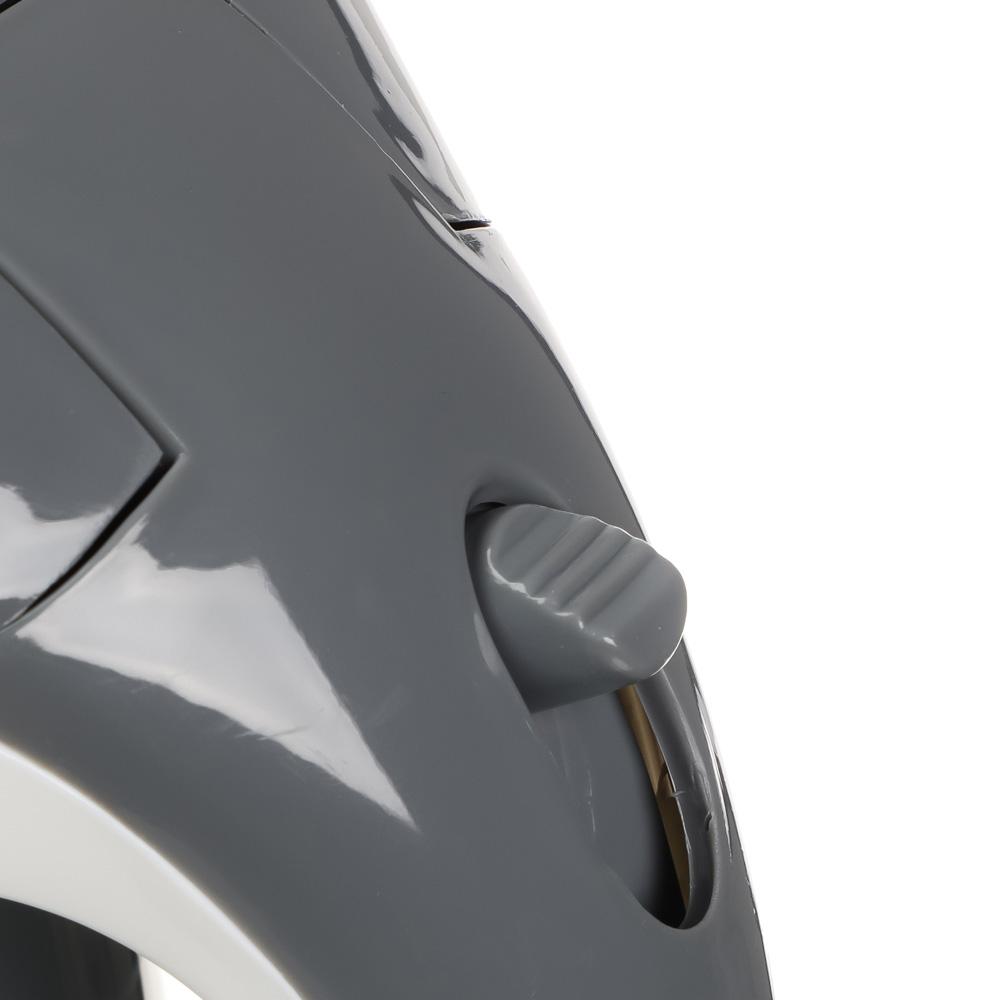Чайник электрический 1 л LEBEN, 1000 Вт, пластик, спиральный нагревательный элемент
