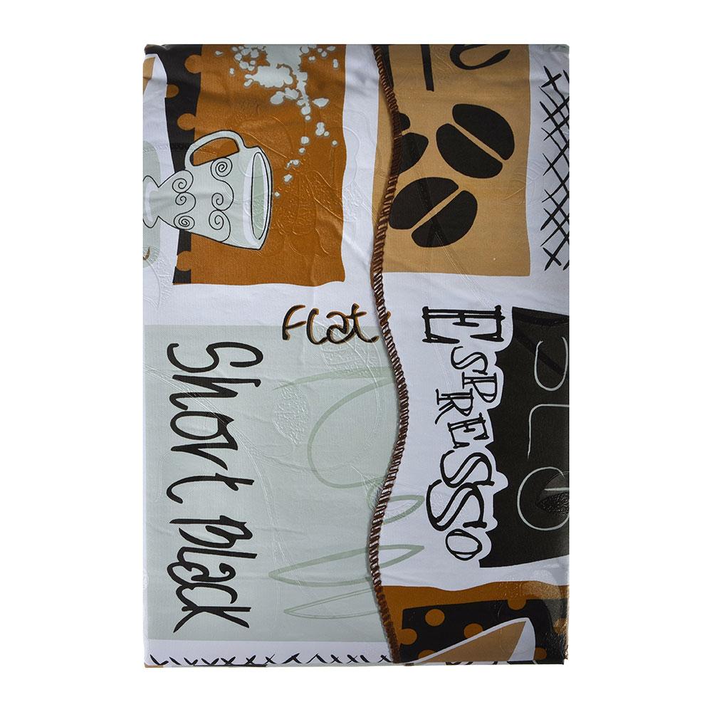 Скатерть на стол виниловая, на фланелевой основе, 120х150см, ПЕВА