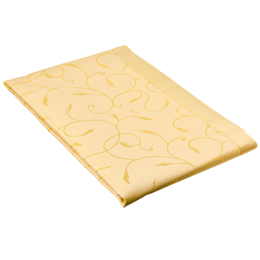 Комплект: скатерть жаккард на стол 150х220см, 8 салфеток, полиэстер