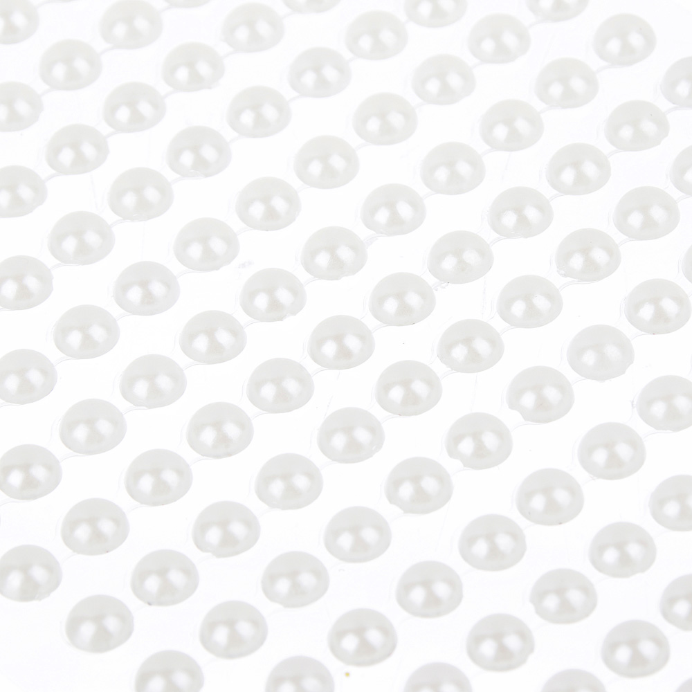 """Наклейка декоративная """"Волшебные жемчужинки 0,7"""", пластик, 22,5х10см"""