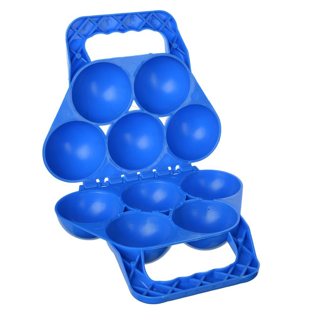 Снежкостроитель на 5 шт, пластик, 32х19см, 3 цвета, SILAPRO
