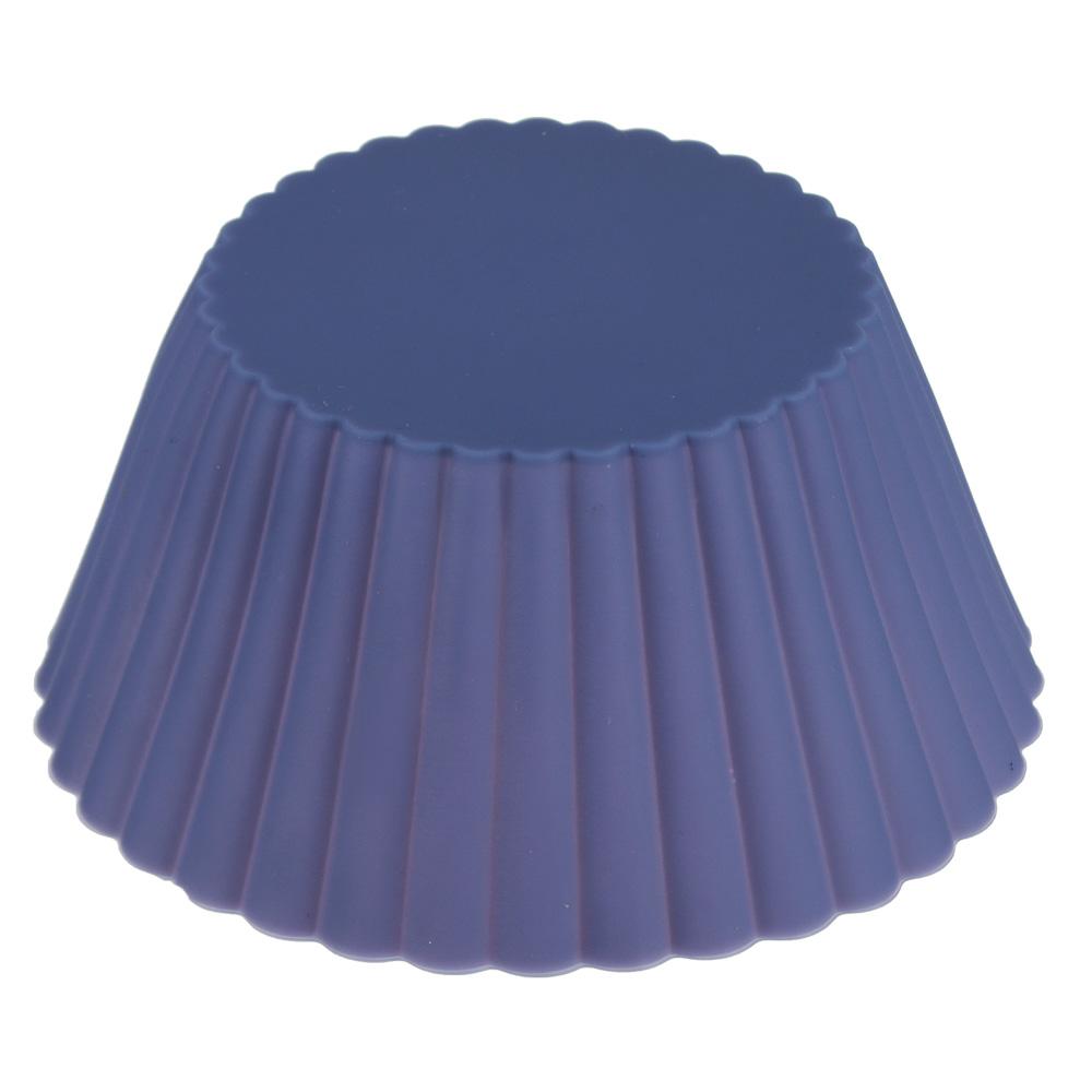 Форма для выпечки силиконовая, 13х6 см, 3 цвета