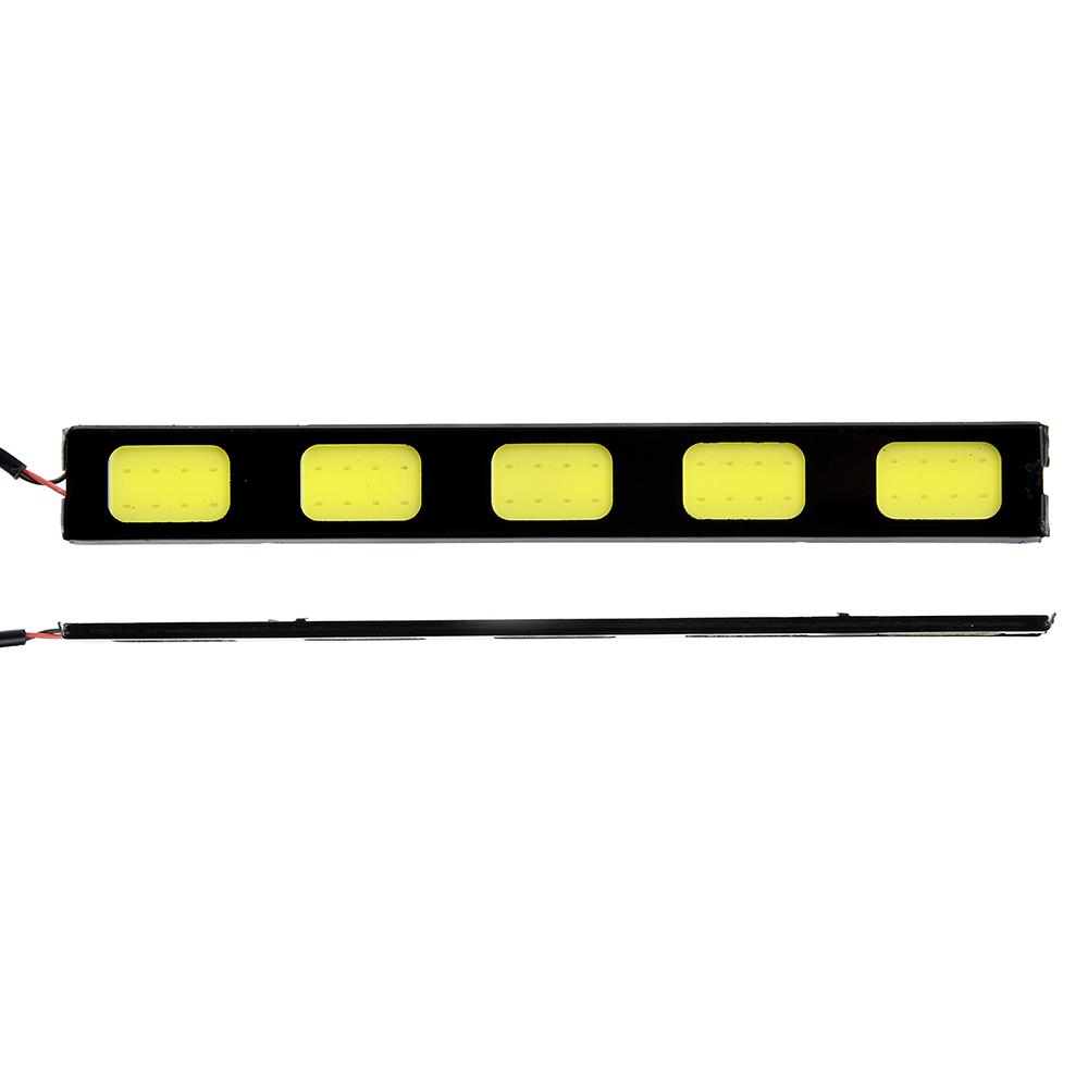 Дневные ходовые огни NEW GALAXY, LED 60шт, метал. корп., 152мм, 12V, белый, 2шт.