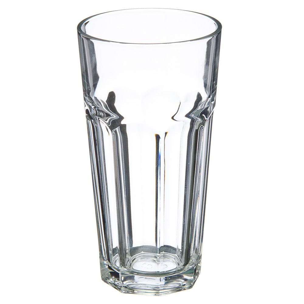 PASABAHCE Стакан Касабланка 475мл, закаленное стекло, 52707SLBT