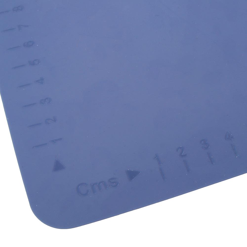 Коврик для раскатки теста, силикон, 50х40 см