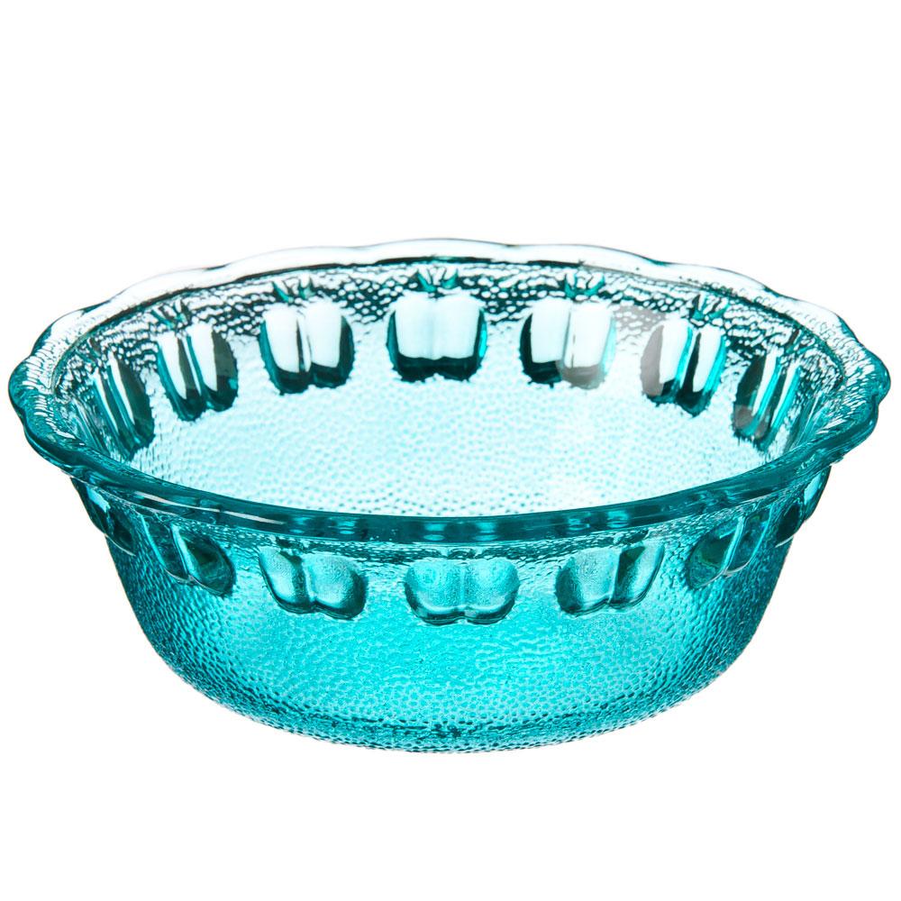 Марлин Миска малая, 13,5x4,5см, стекло, синий