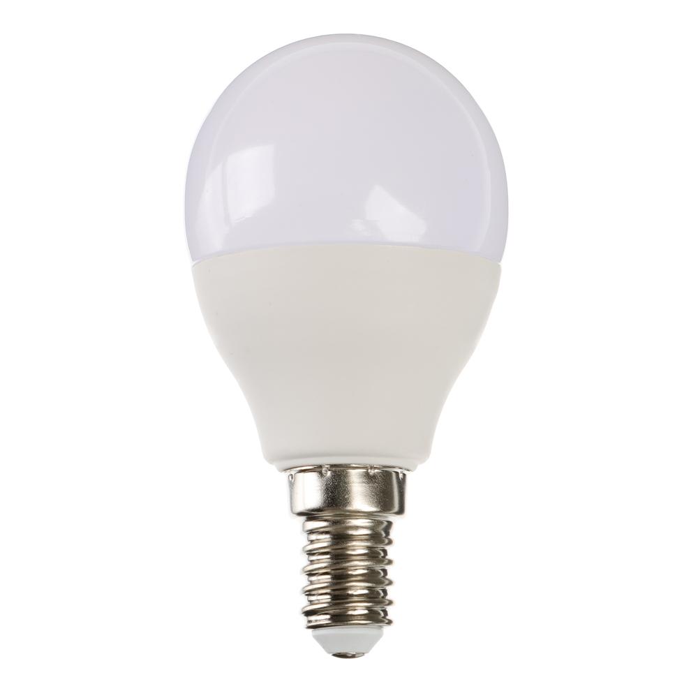 Лампа светодиодная FORZA G45, 7W, E14, 560lm, 4000К