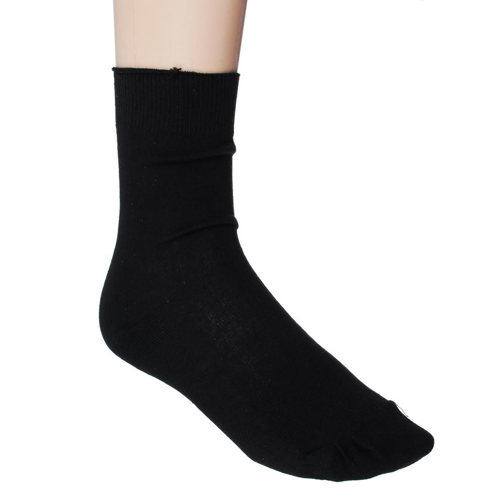 Набор мужских носков 5 пар, 47% хлопок, 53% полиэфир р.25-29, черные