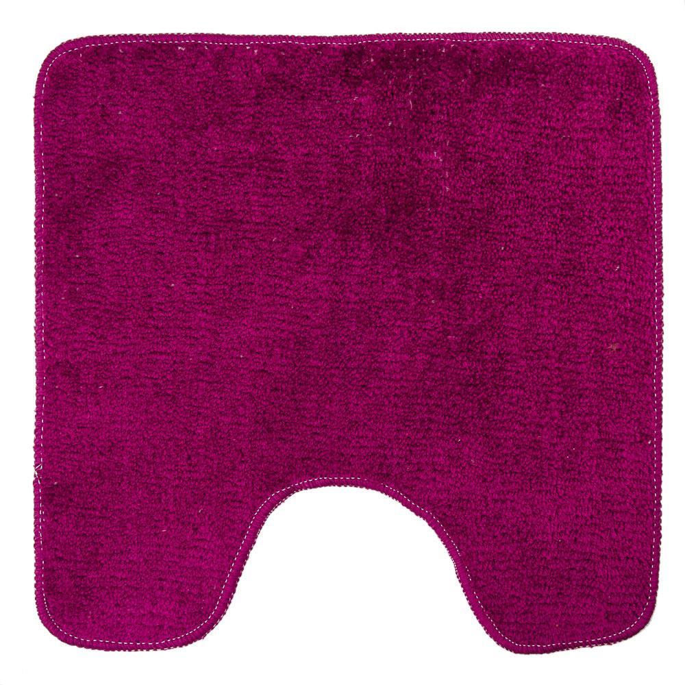 VETTA Коврик для туалета, акрил, 50x50см, однотонный фиолет, Дизайн GC