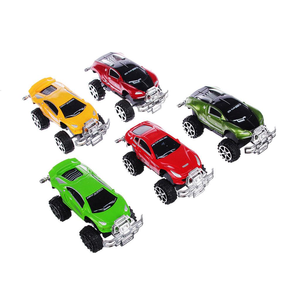 """Машинка инерционная """"Спортивная"""", пластик, 12х7х6,5см, 12 цветов, 399-64D"""