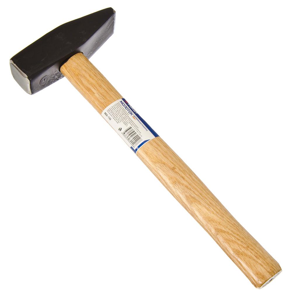 РОКОТ Молоток 1000гр деревянная рукоятка