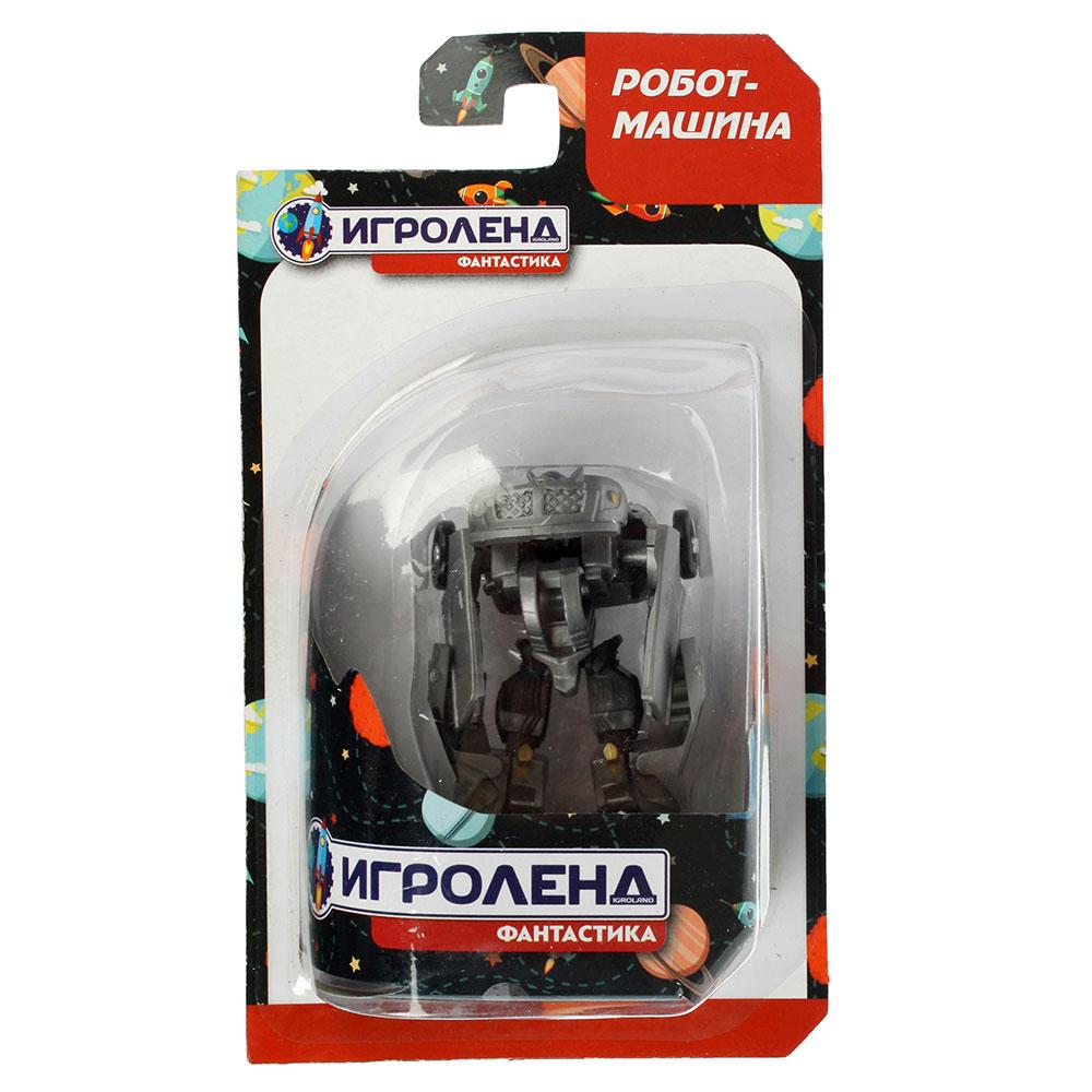 ИГРОЛЕНД Робот-машина, пластик, 8х3,5х1,5см, 4 дизайна, 3820/3821