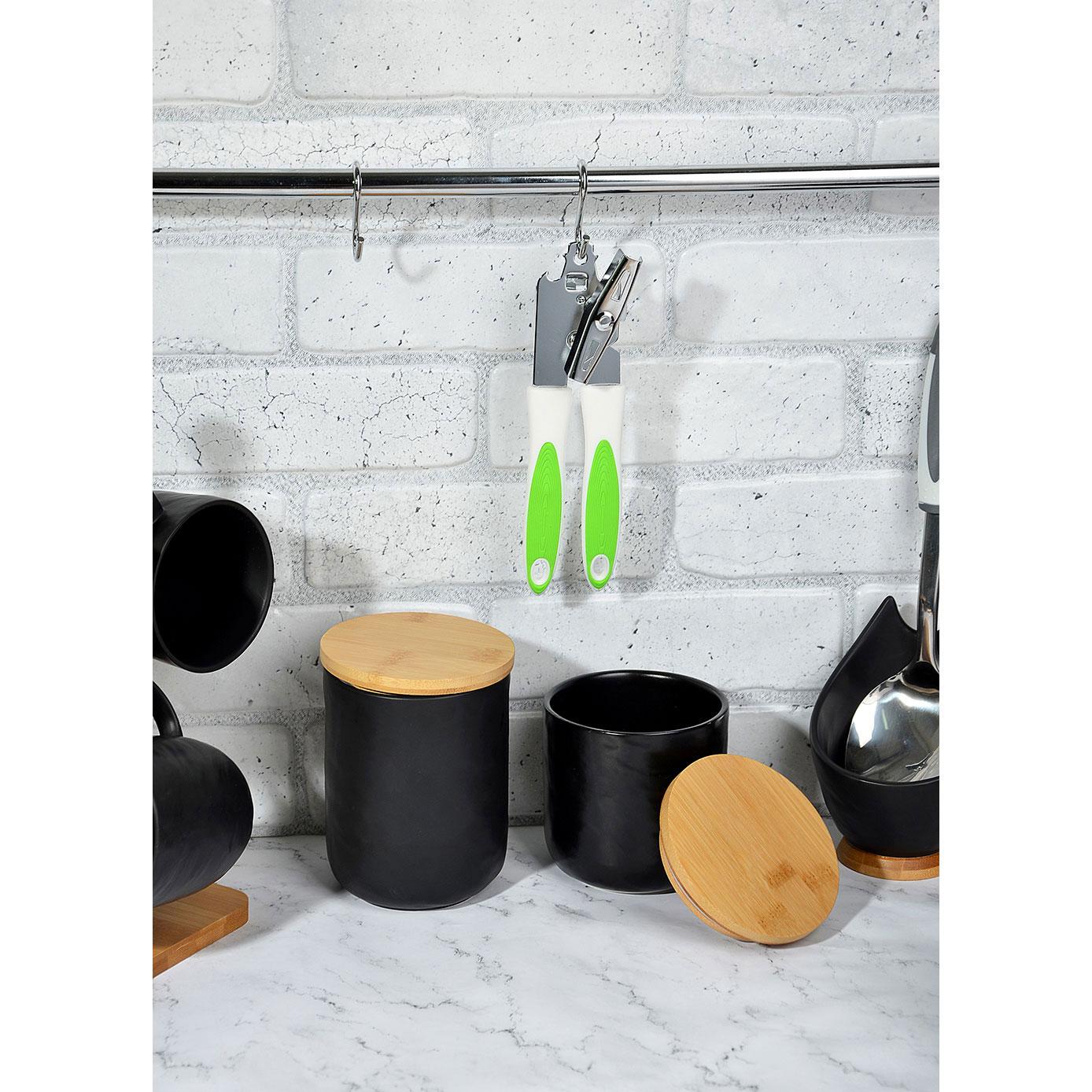 Открывалка для консервных банок, металл/пластик, 2 цвета, Смарт VETTA