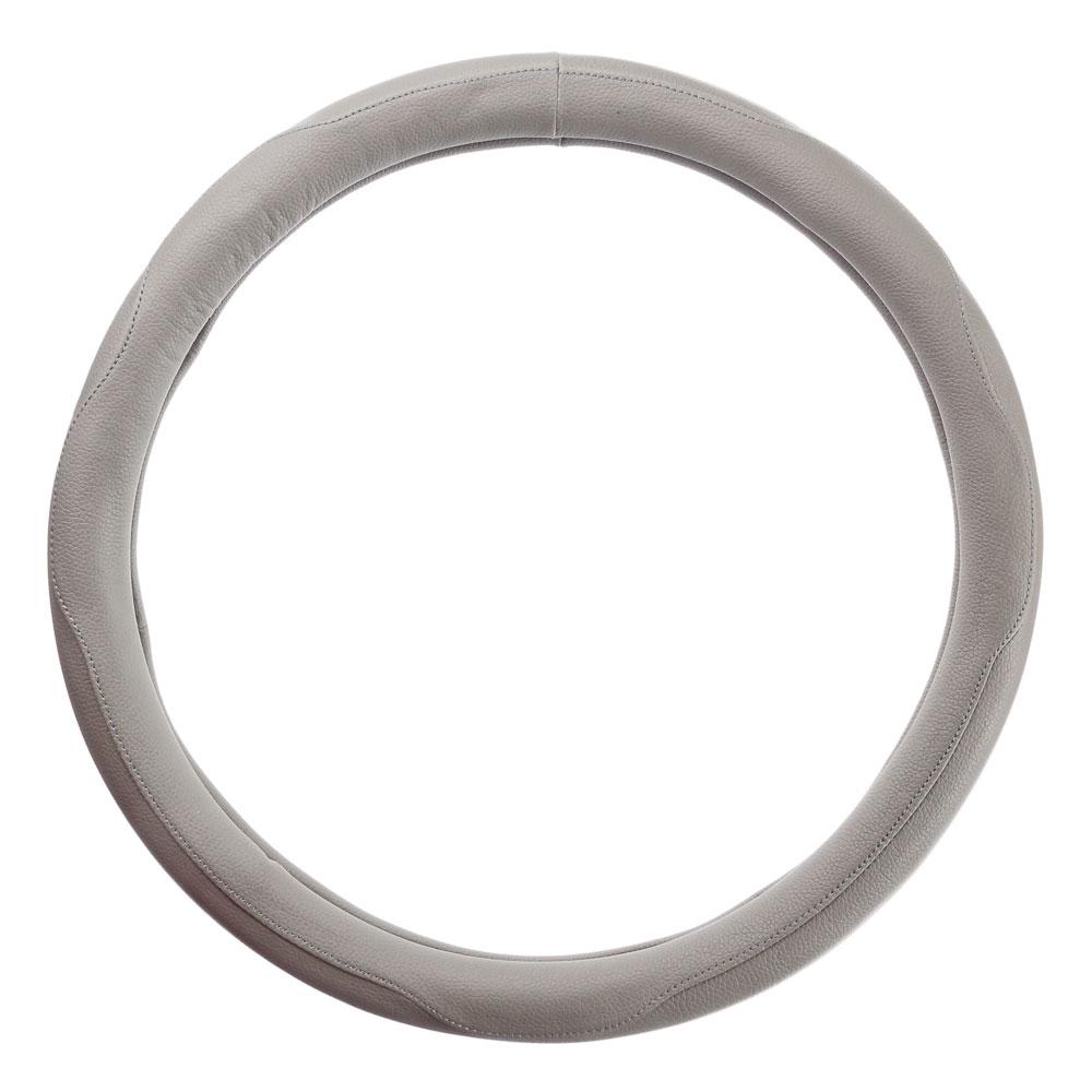 NEW GALAXY Оплетка руля, кожа PU, серый, разм. (М)