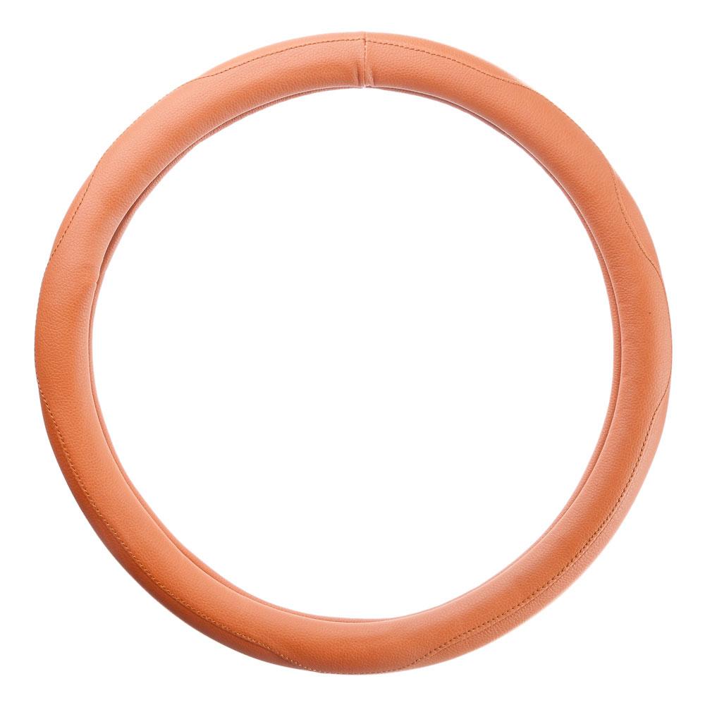NEW GALAXY Оплетка руля, кожа PU, коричневый, разм. (М)