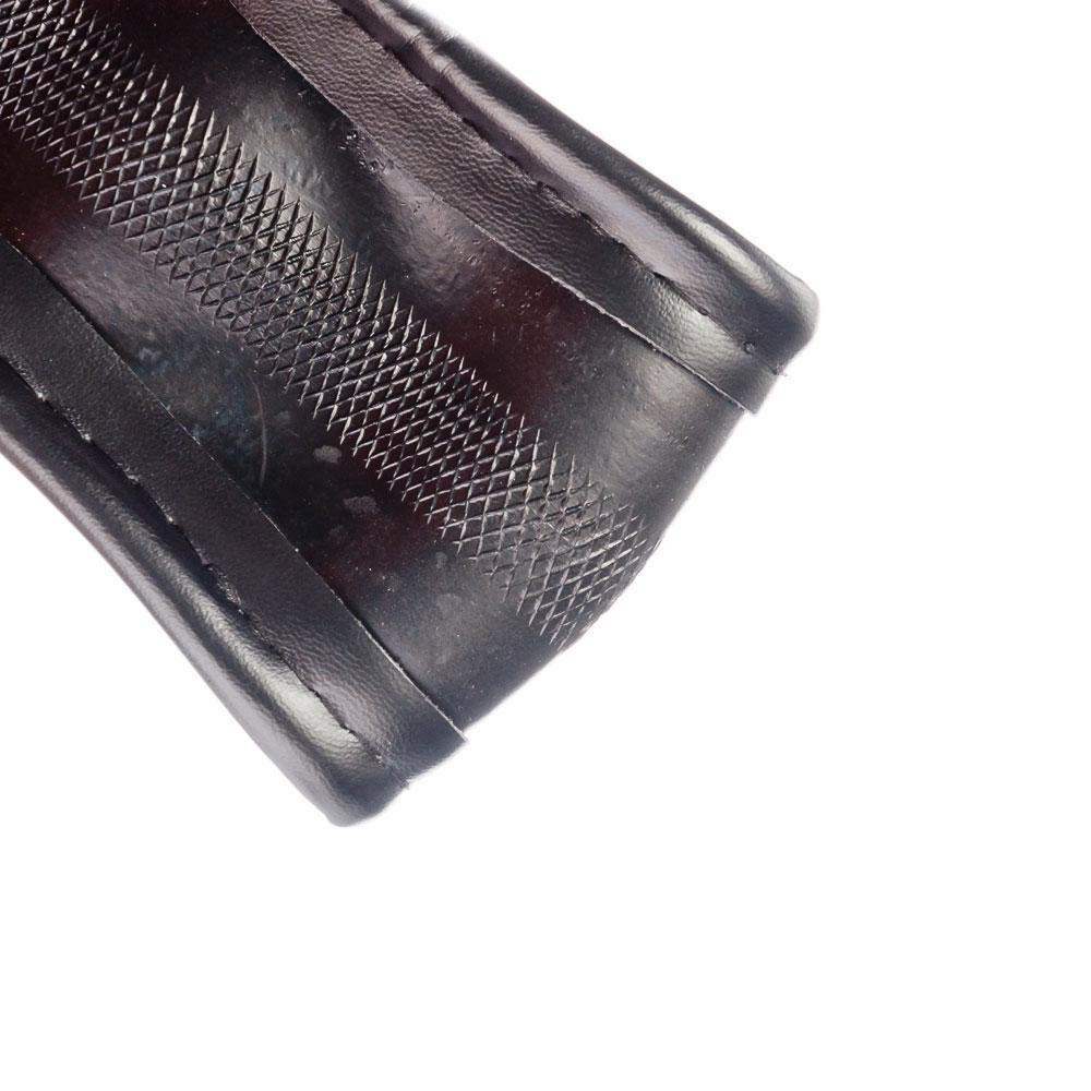 NEW GALAXY Оплетка руля гладкая кожа, гладкая, черный, разм. (М)
