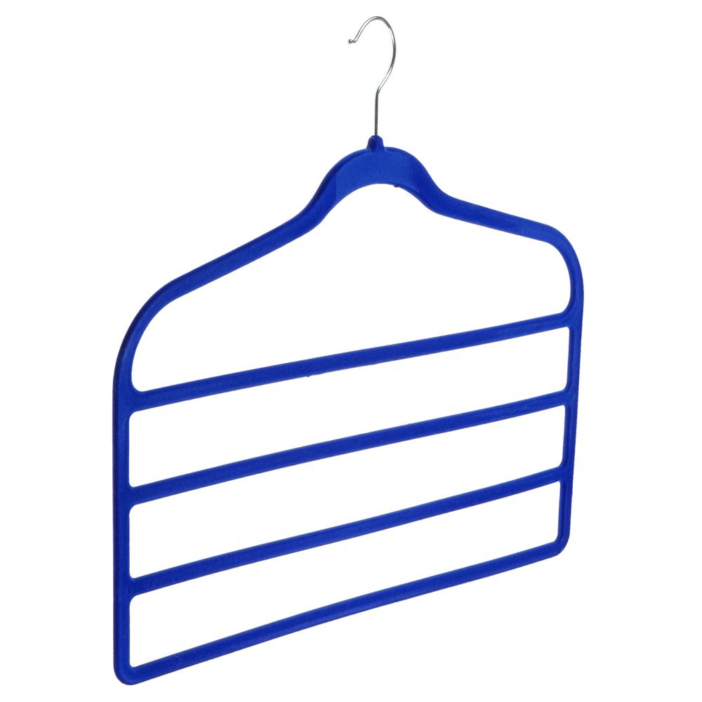 VETTA Вешалка для брюк многоуровневая, 45х42см, с покрытием флок