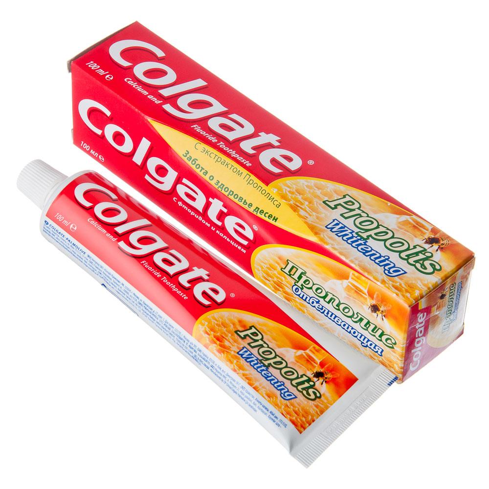Зубная паста COLGATE Прополис отбеливающая, 100мл, 188189270