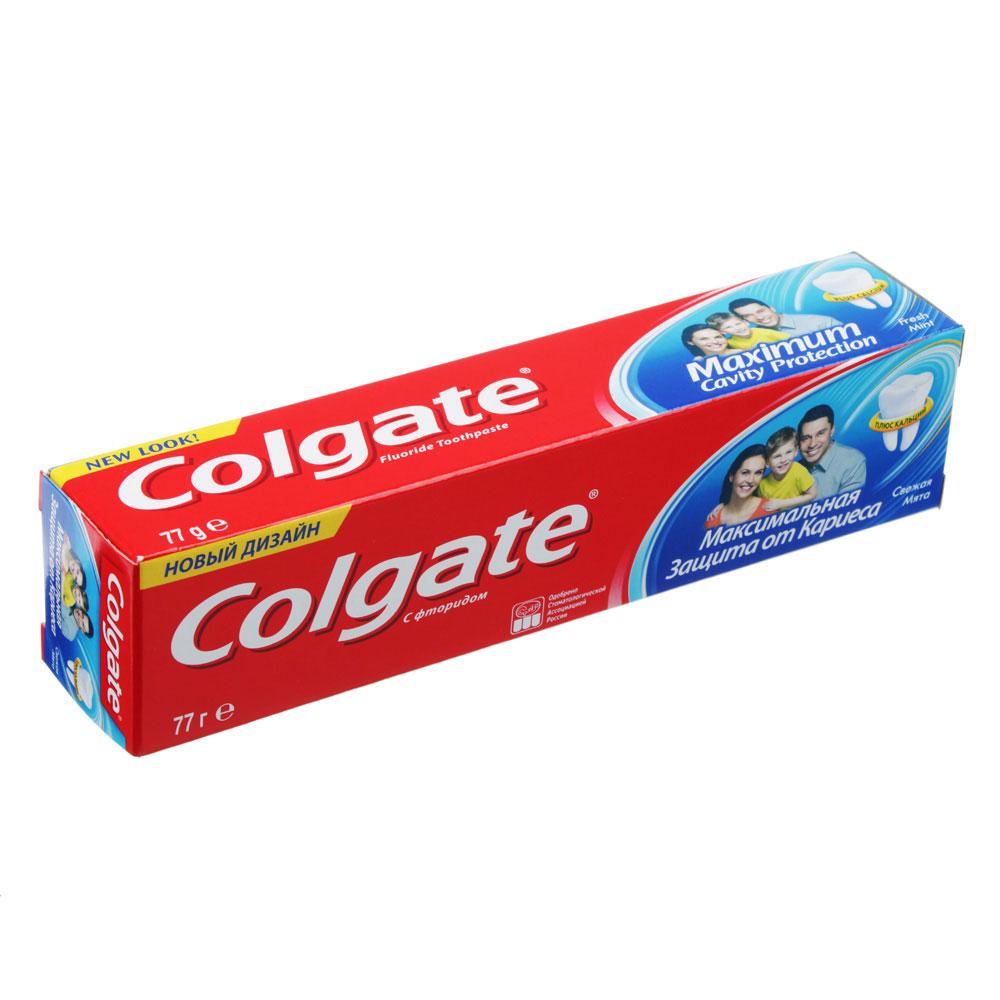 Зубная паста COLGATE Максимальная защита от кариеса Свежая мята, 50мл,арт.188189266/188189275