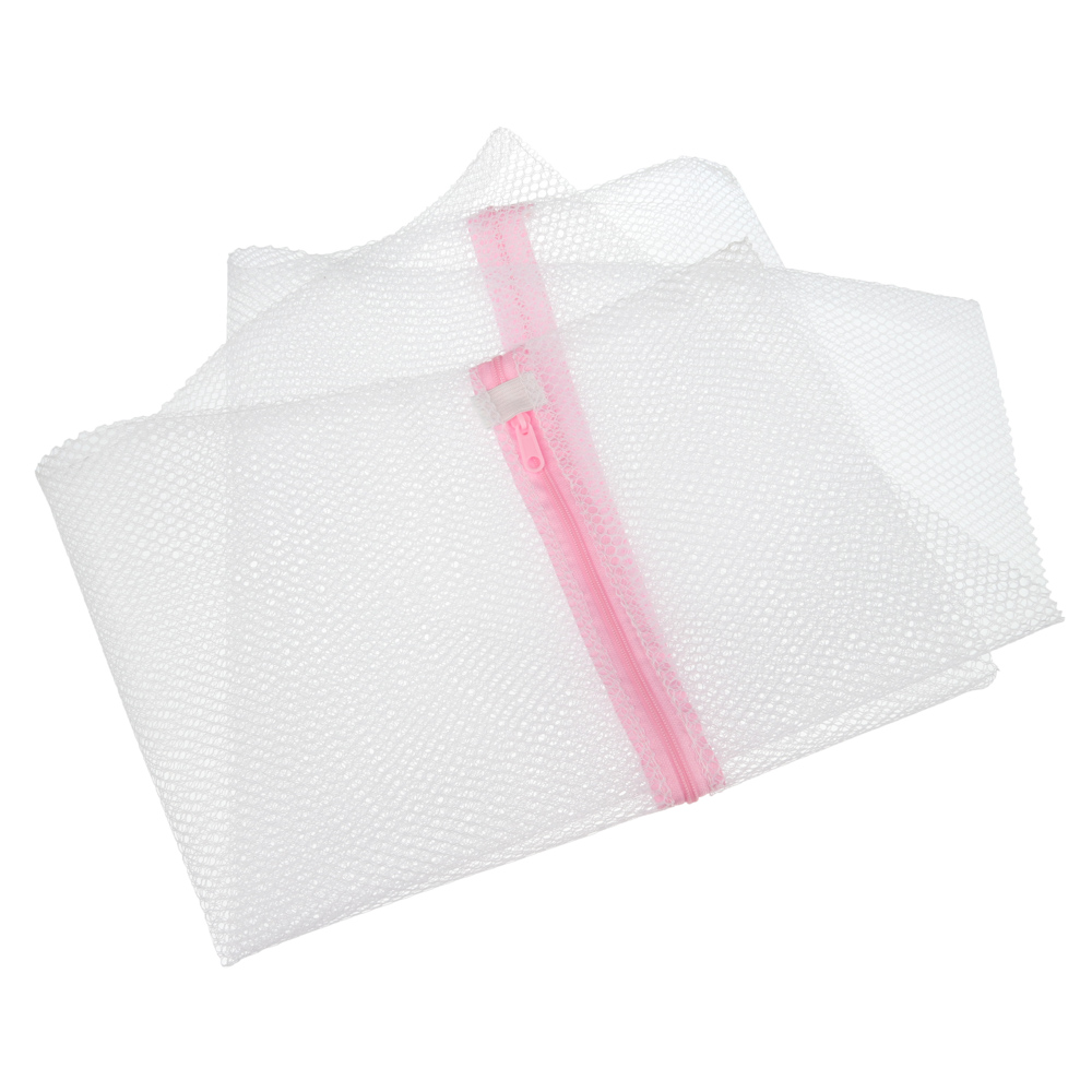 Мешок для стирки белья, полиэстер, 50х60см