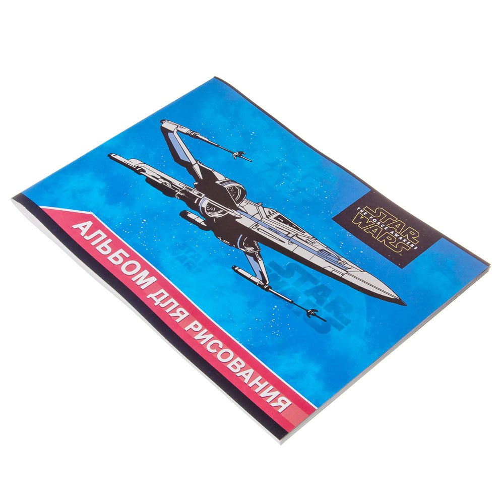 Альбом для рисования 40л скр А4 STW55-EAC Star Wars
