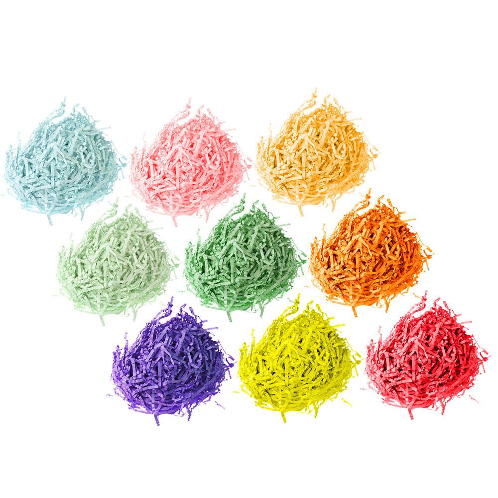 Наполнитель декоративный, бумага, 20гр., 10 цветов, арт.0308-2