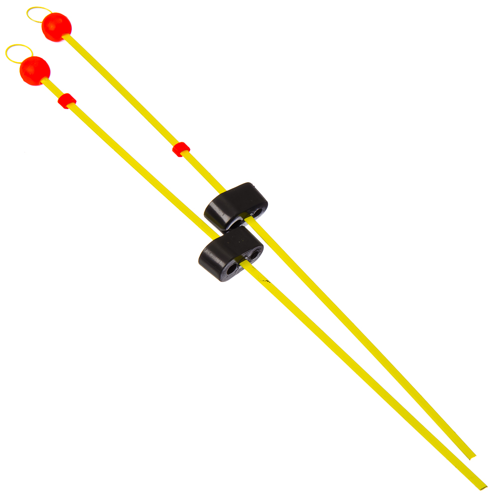 AZOR Набор 2шт сторожок балансирный, полимер. покрытие 10-18 гр, AW2002