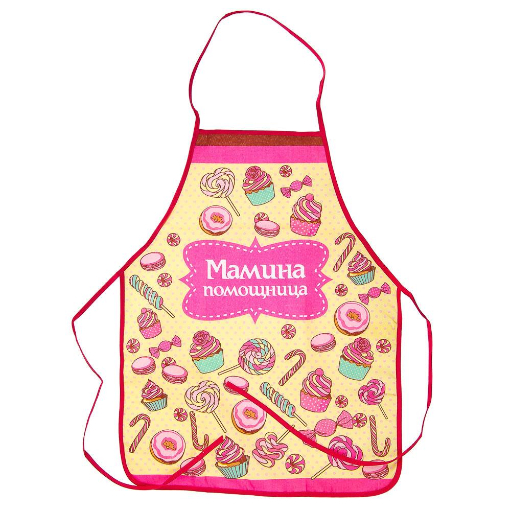 VETTA Набор кухонный для девочек 3 пр. (фартук, косынка, прихватка), GC