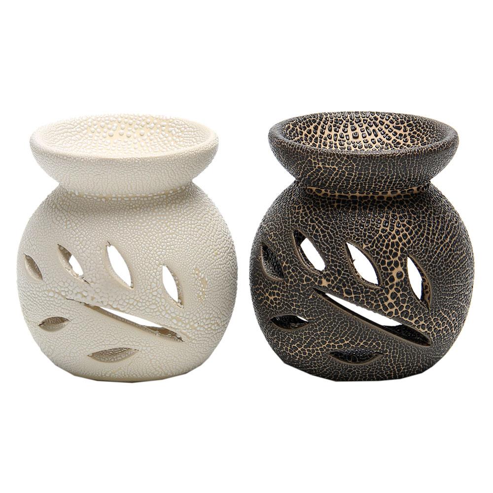 Аромалампа, керамика, 8,5х8х8см, 2 цвета, арт.1608-15