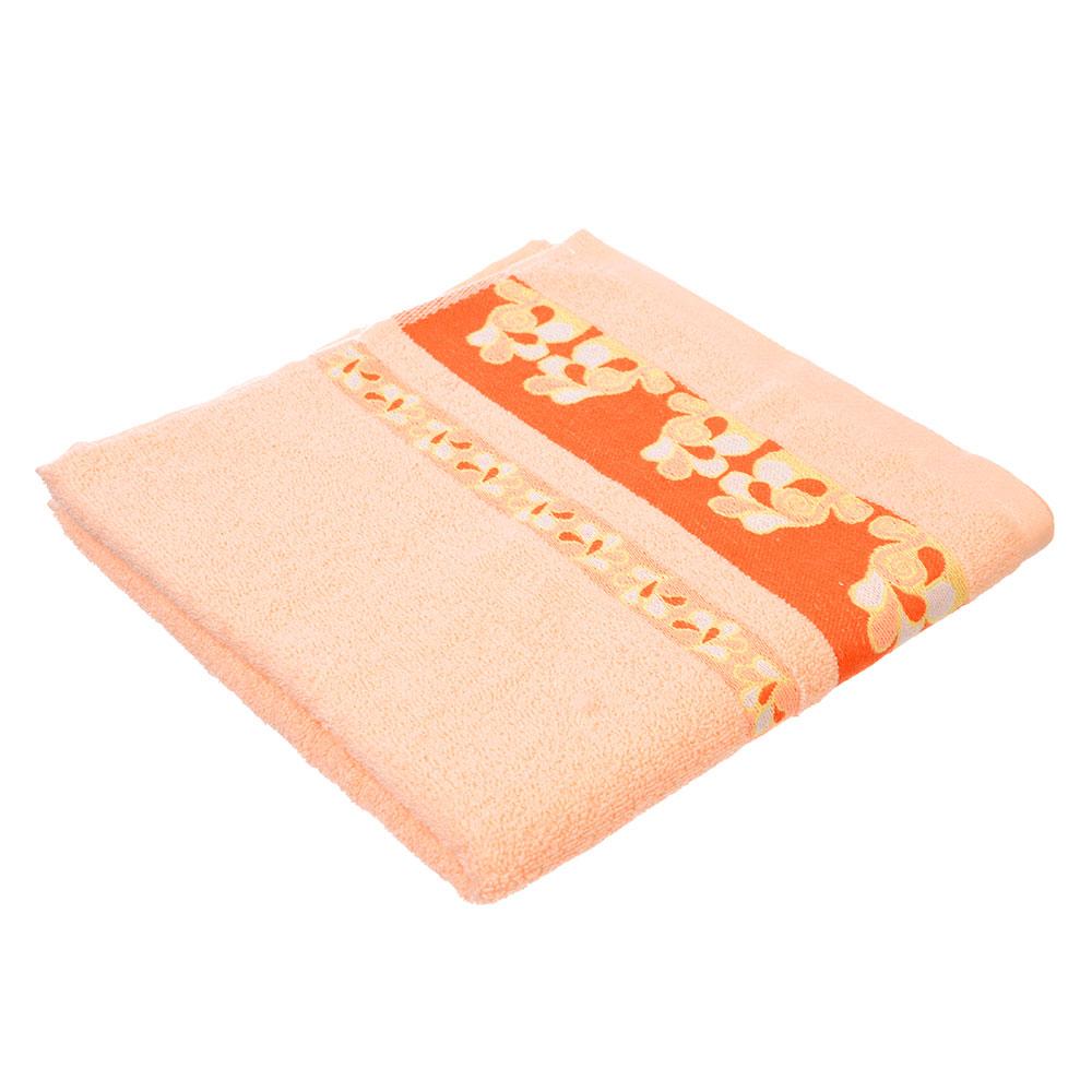 Полотенце для лица махровое, хлопок, 50x100см, 3 цвета, VETTA