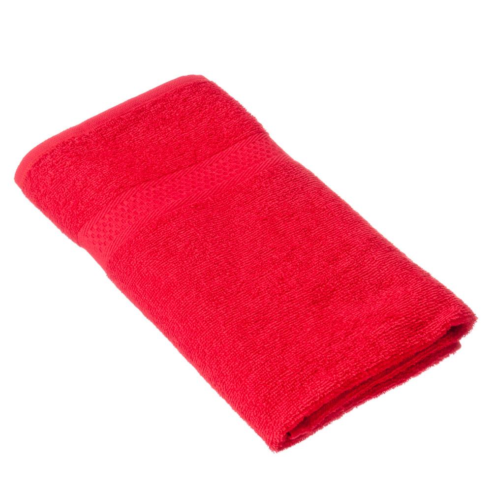 "Spany Home Полотенце махровое, 100% хлопок, 50х90см, ""Grace"", красный, ПГ-08521"