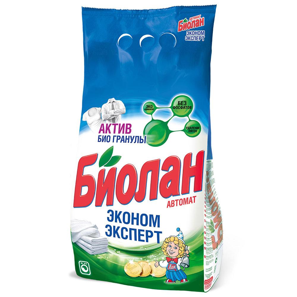 Стиральный порошок Биолан Эконом Эксперт автомат п/у 2400г арт.708-4