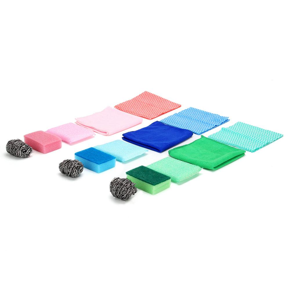Набор для уборки из 6 предметов, поролон, полиэстер, вискоза, металл, VETTA