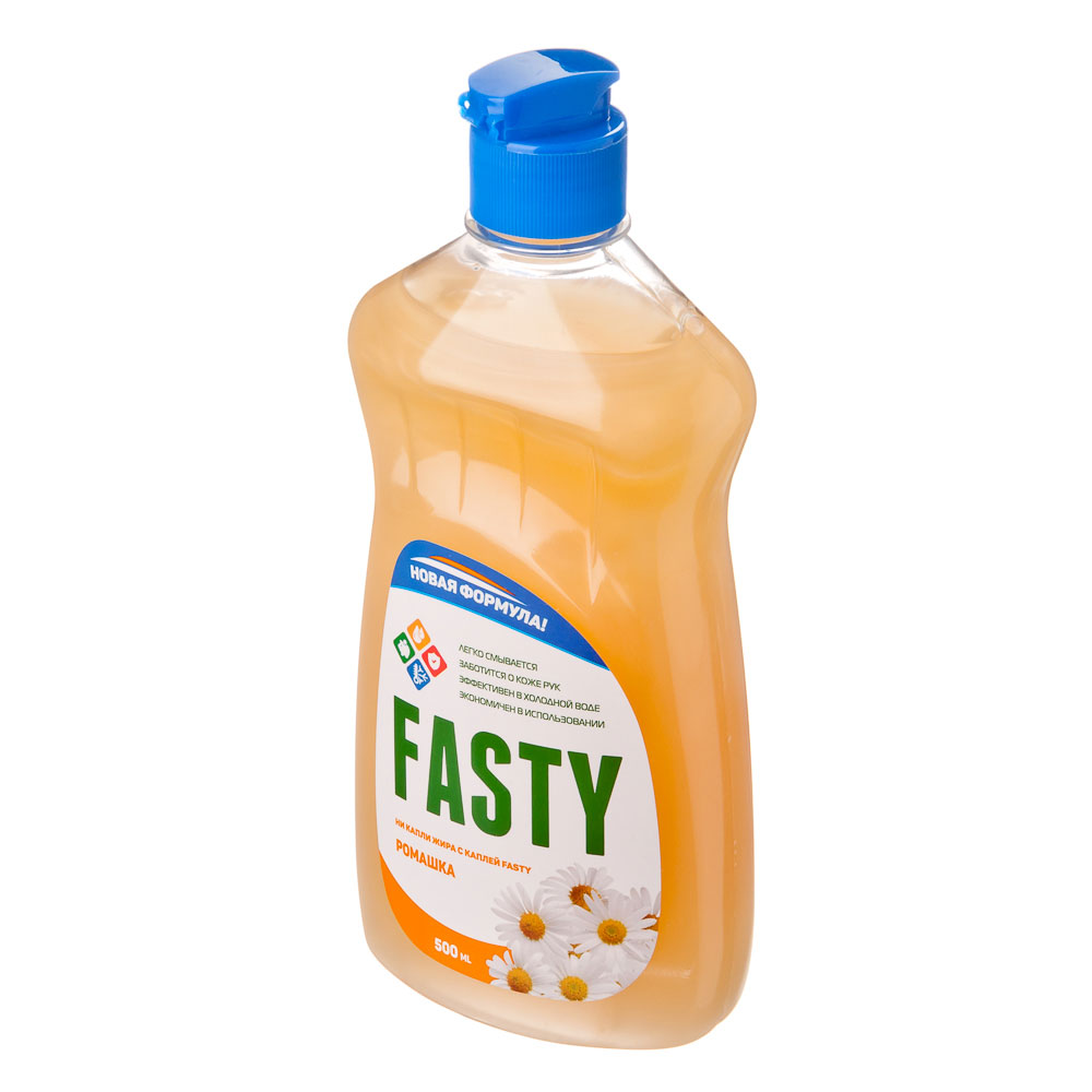 Средство для мытья посуды Fasty Ромашка п/б 500мл