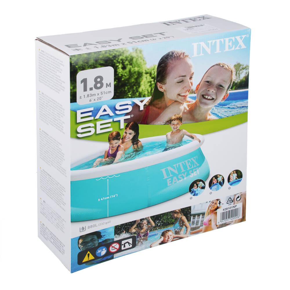 Бассейн серии INTEX Easy Set, 183х51 см, от 3 лет, 28101
