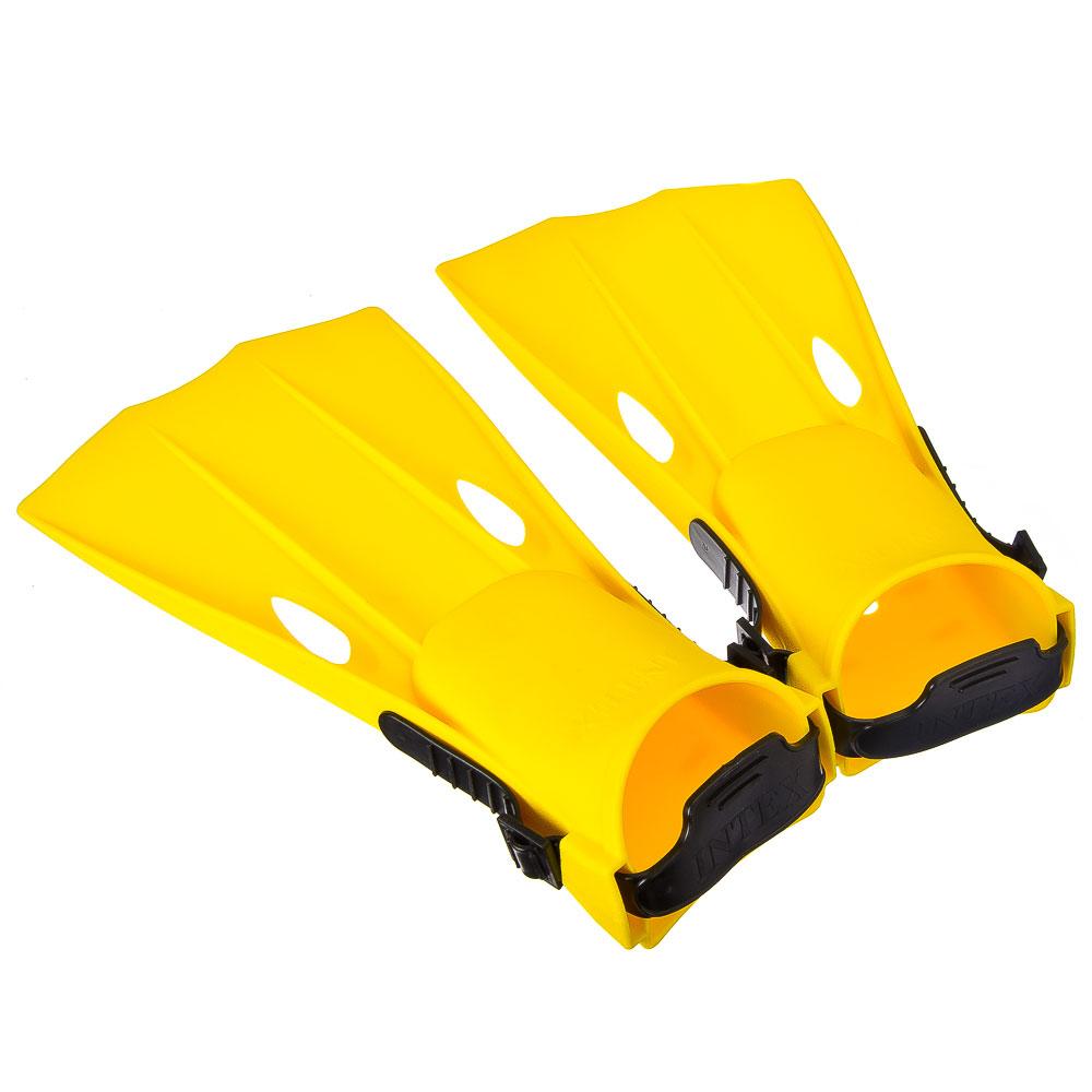 Ласты для плавания, маленькие, пара, возраст от 3 до 5 лет, INTEX, 55936