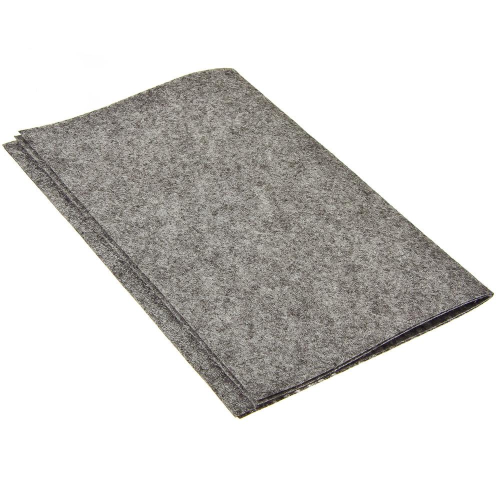 Коврик грязезащитный, впитывающий, многоразовый, 32x43см, рулон 2шт, арт.0849