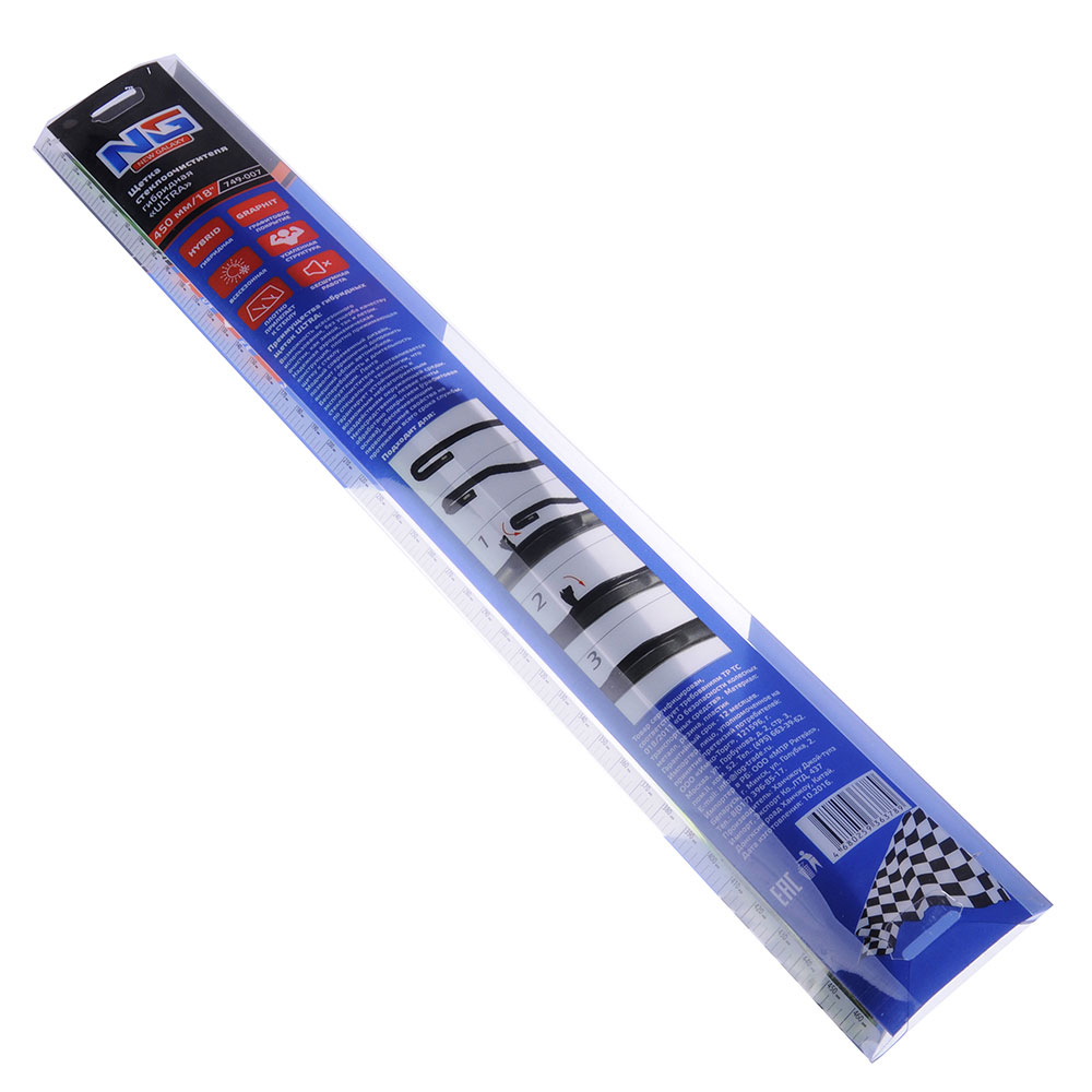 NEW GALAXY Щетка стеклоочистителя гибридная ULTRA 450мм/18''