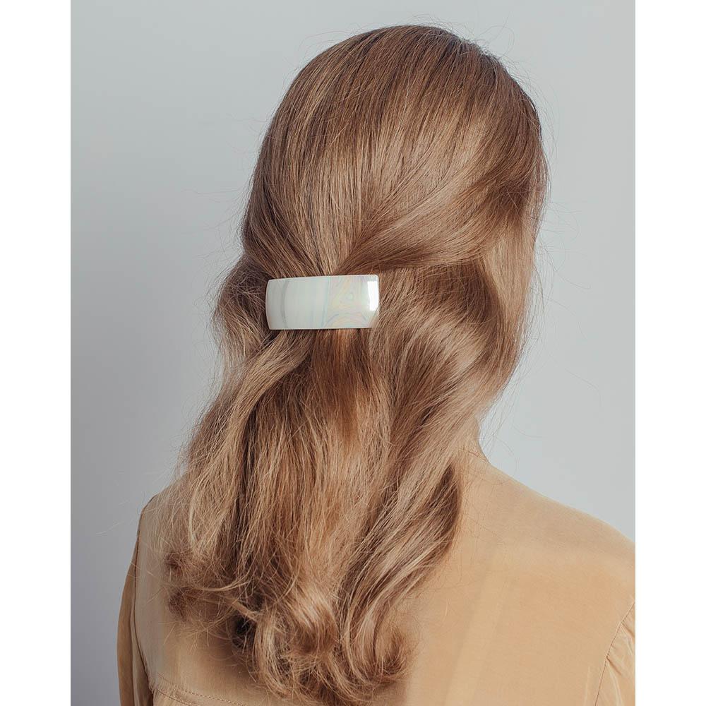 Заколка-автомат для волос, металл, пластик, 10 см, 6 цветов
