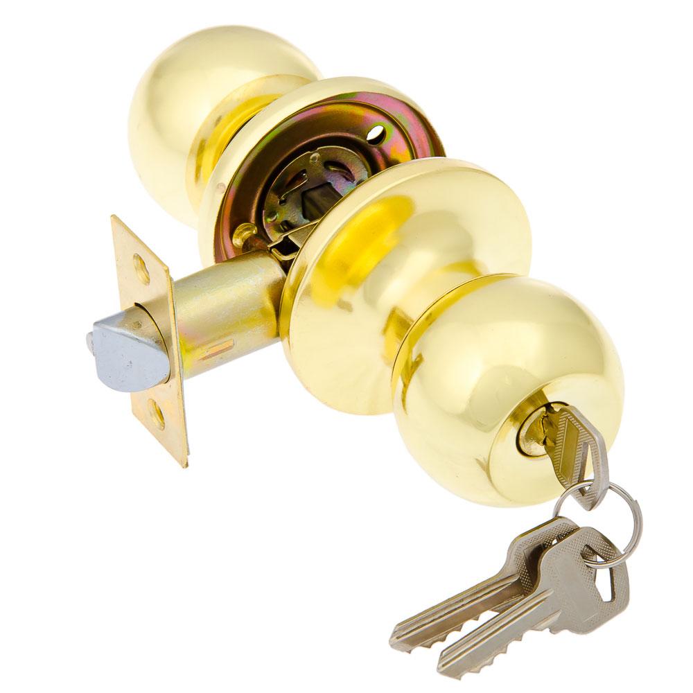 LARS Замок 6072-01 золото c ключом