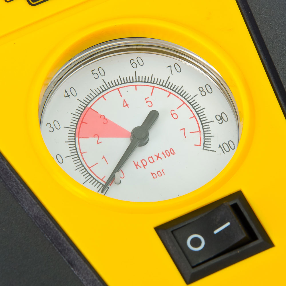NEW GALAXY Компрессор автомобильный Модерн, 65Вт, 10л/мин, провод 3м + переходники