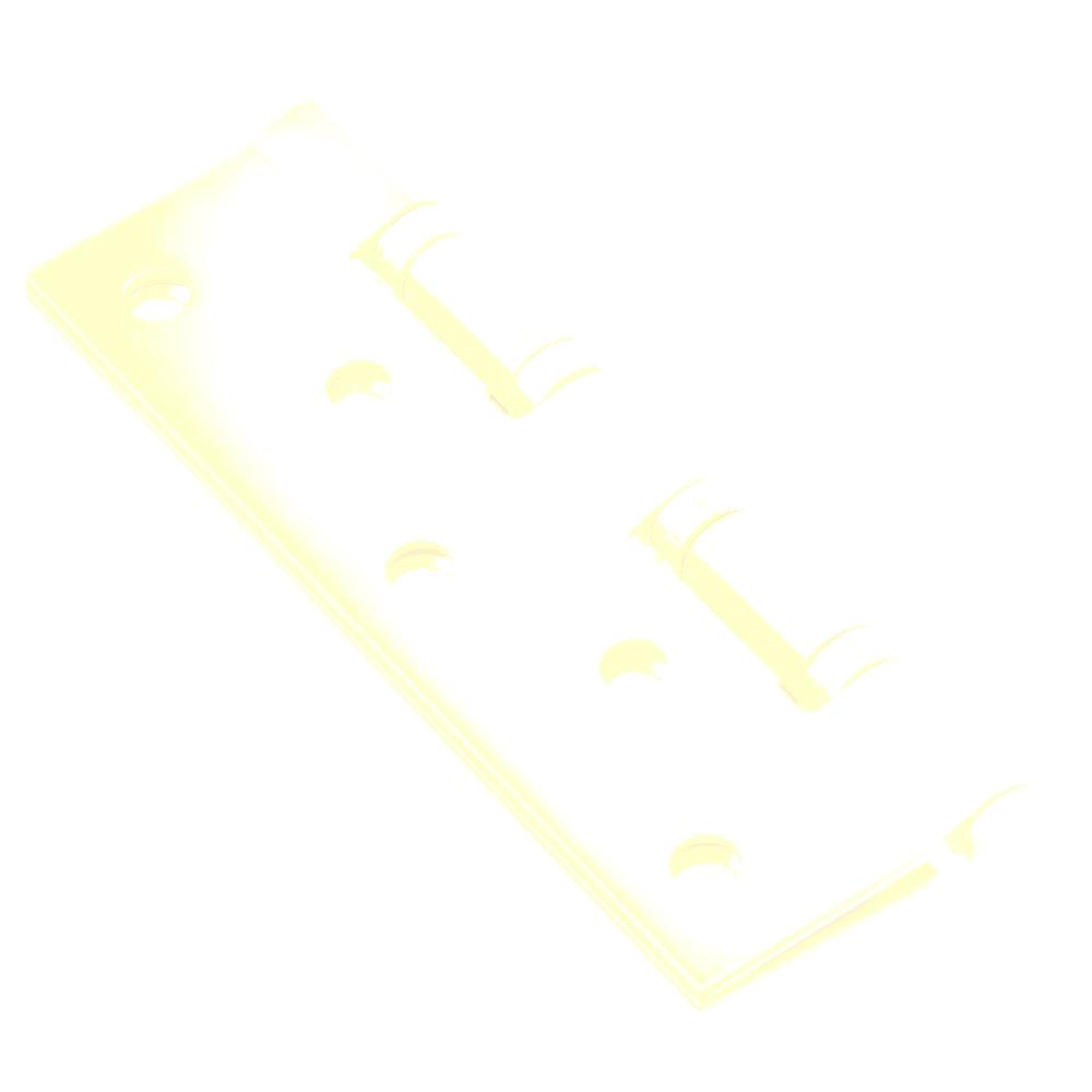 LARS Петляпрямоугольная 120х80х2 4BB матовое золото