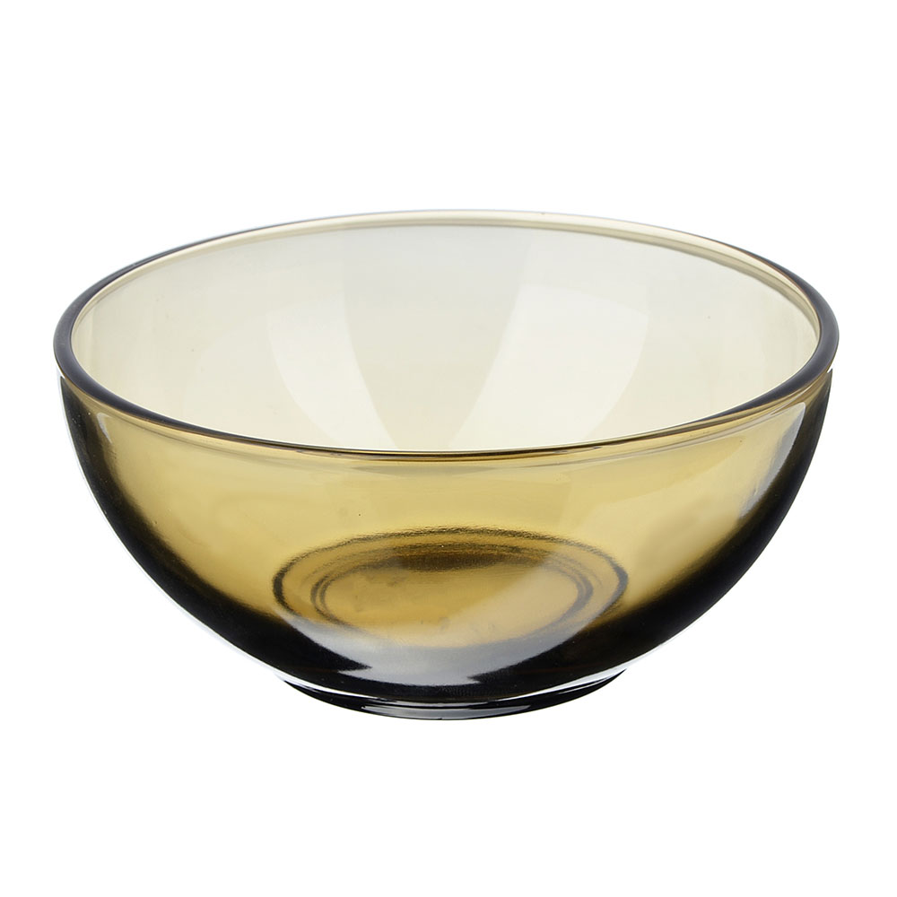 """Салатник, дымчатое стекло, 13 см, """"Базилико"""""""