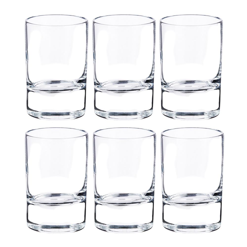PASABAHCE Набор стаканов 6шт для водки, 60 мл, Сиде, 42484B