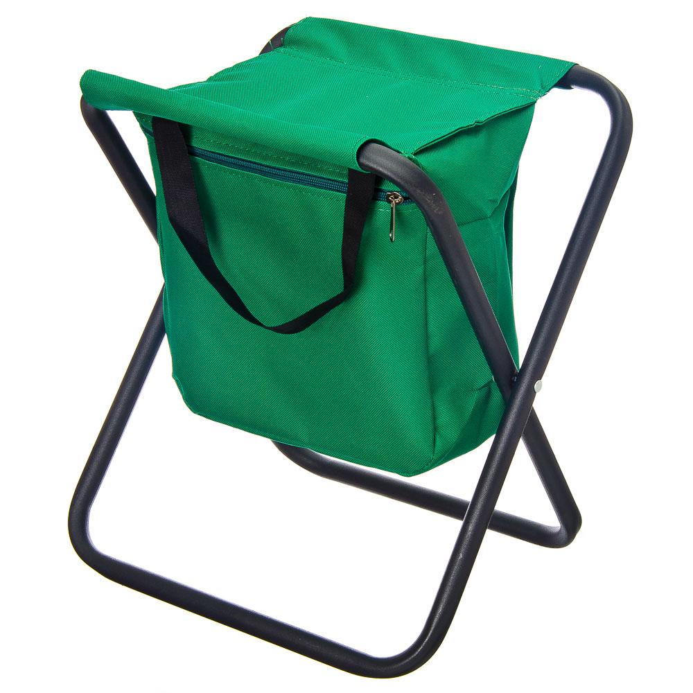 Табурет туристический раскладной 42x31см, с сумкой ттр-16с