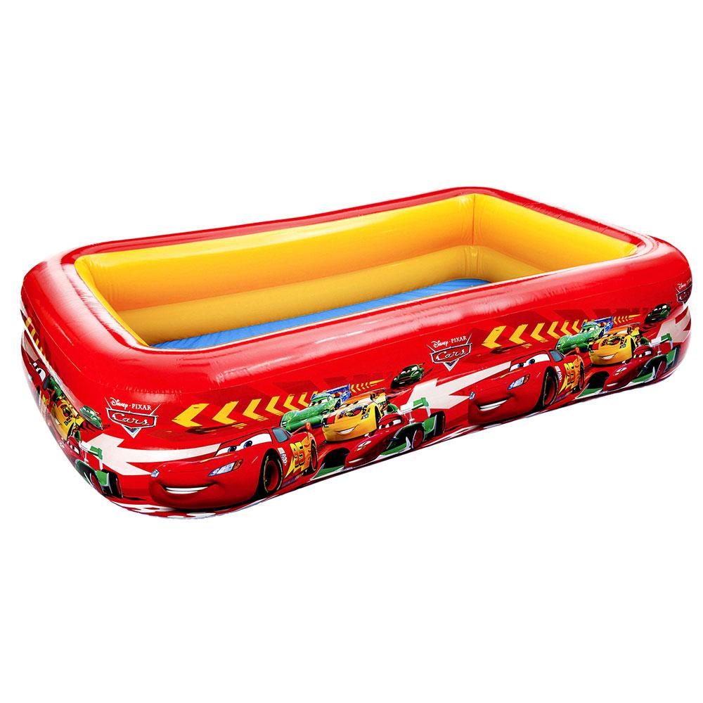 Надувной бассейн для детей INTEX 57478 Тачки 262х175х56 см